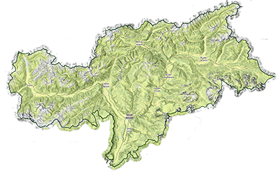 Südtirol Map