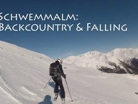 Backcountry e cadute a Schwemmalm